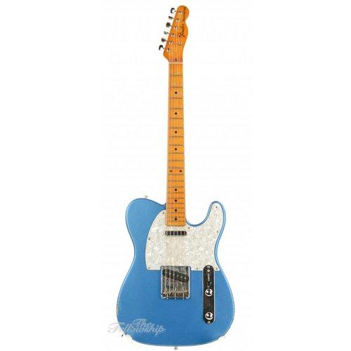 Fender Partscaster T-style Lake Placid Blue Maple Neck Relic