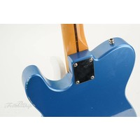Partscaster T-style Lake Placid Blue Maple Neck Relic