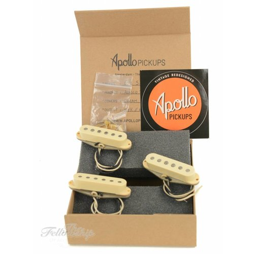 Apollo Apollo Pickups 60's S-Style Cream Set