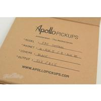 Apollo Pickups P90 Soapbar Black Set