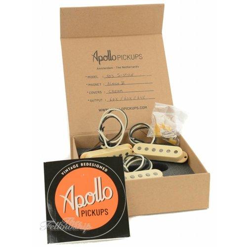 Apollo Apollo Pickups 50's S-Style Alnico V Cream Set