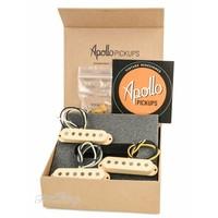 Apollo Pickups 50's S-Style Alnico III Cream Set