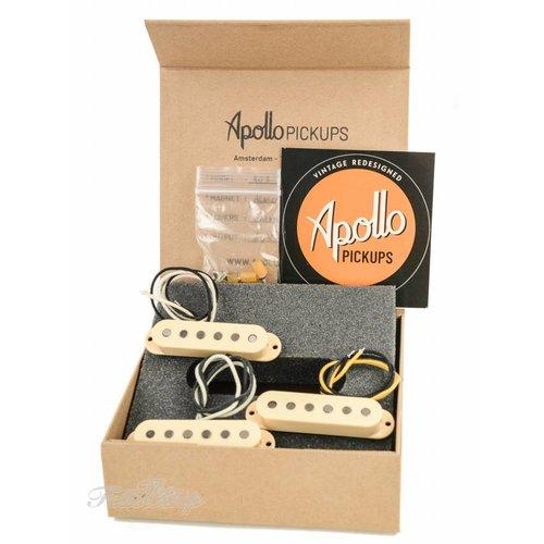 Apollo Apollo Pickups 50's S-Style Alnico III Cream Set
