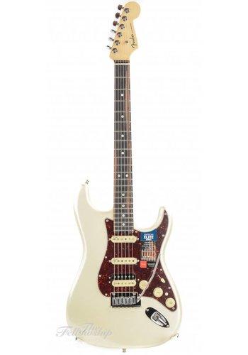 Fender Fender American Elite Stratocaster HSS Olympic Pearl Ebony