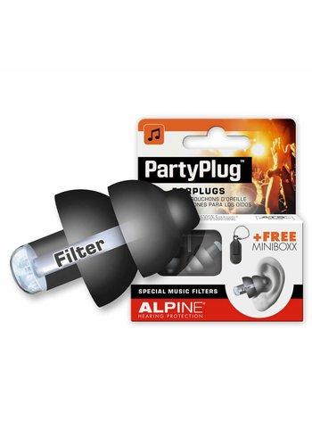 Alpine Alpine PartyPlug Earplugs Black