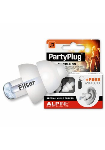 Alpine Alpine PartyPlug Earplugs White