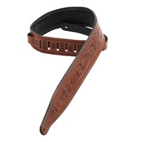 Levys M17T02 Brown Deluxe Guitar Strap