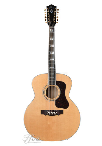 Guild Guild F512E Maple Natural LR Baggs