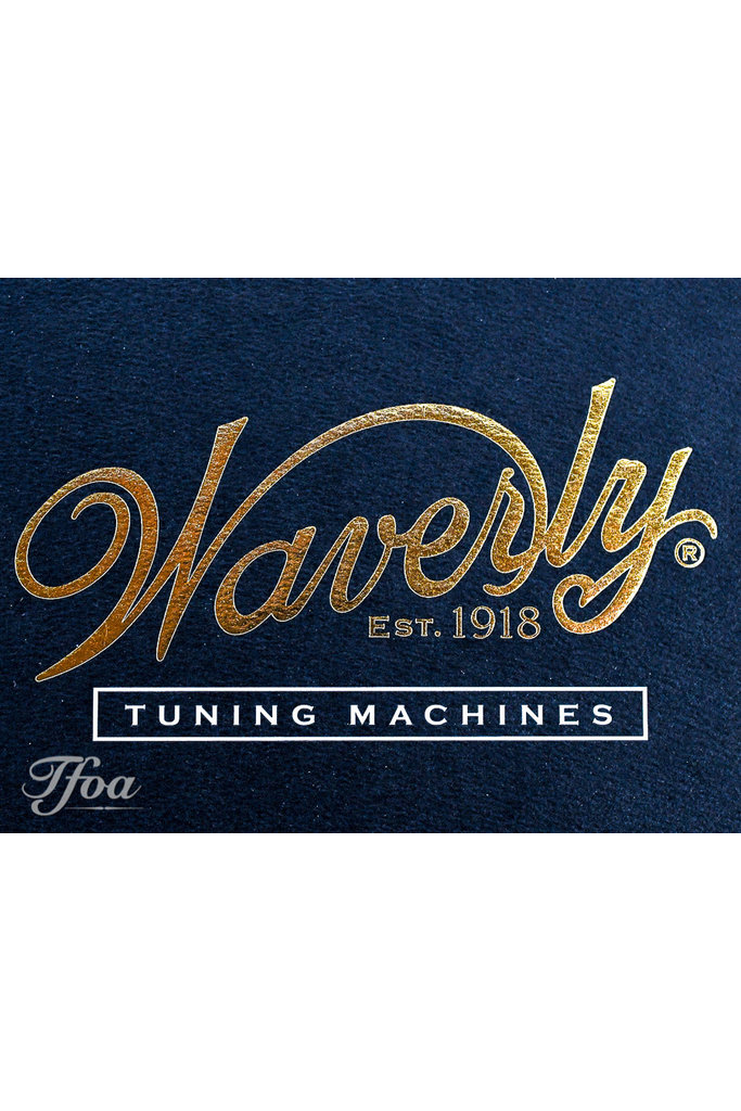 Waverly Tuners 4098-G Snakewood Slotted Pegheads Gold