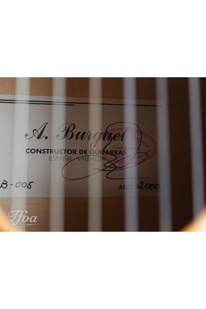Amalio Burguet AB Abeto Amazon Rosewood Doble Tapa 2000