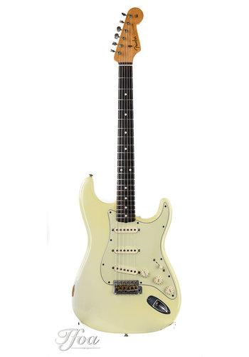 Fender Custom Fender Custom Shop 1960 Stratocaster Relic Olympic White 2008