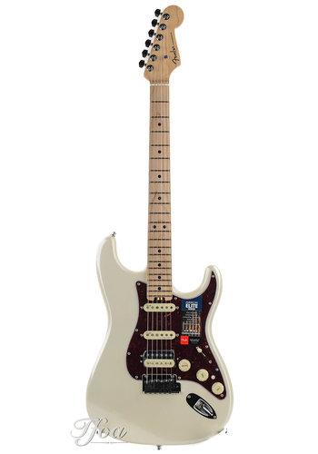 Fender Fender American Elite Stratocaster HSS Shawbucker Olympic Pearl Maple Neck