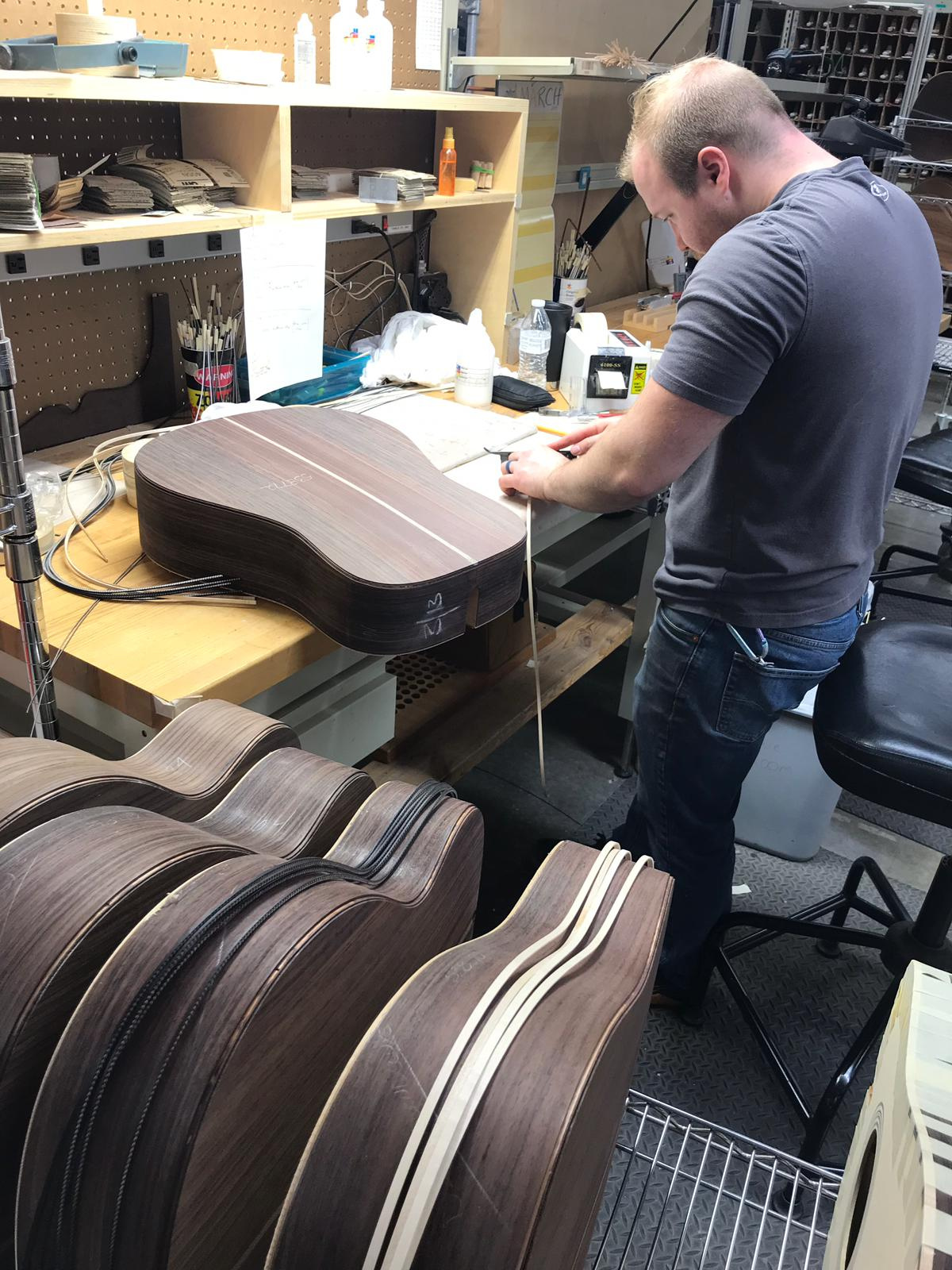 Custom Brazilian Rosewood Martin Guitars!
