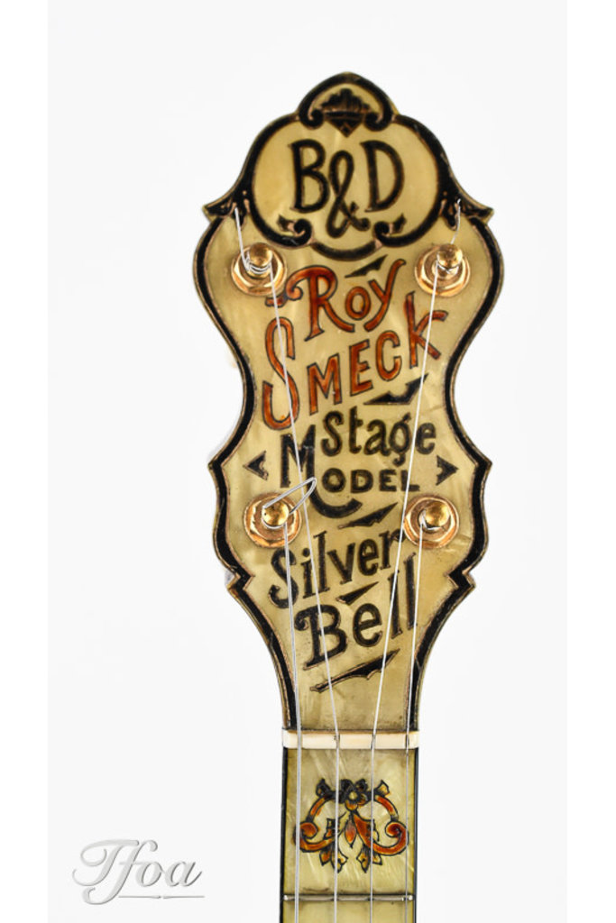 Bacon & Day No 4 Roy Smeck Silver Bell Stage Model 1930