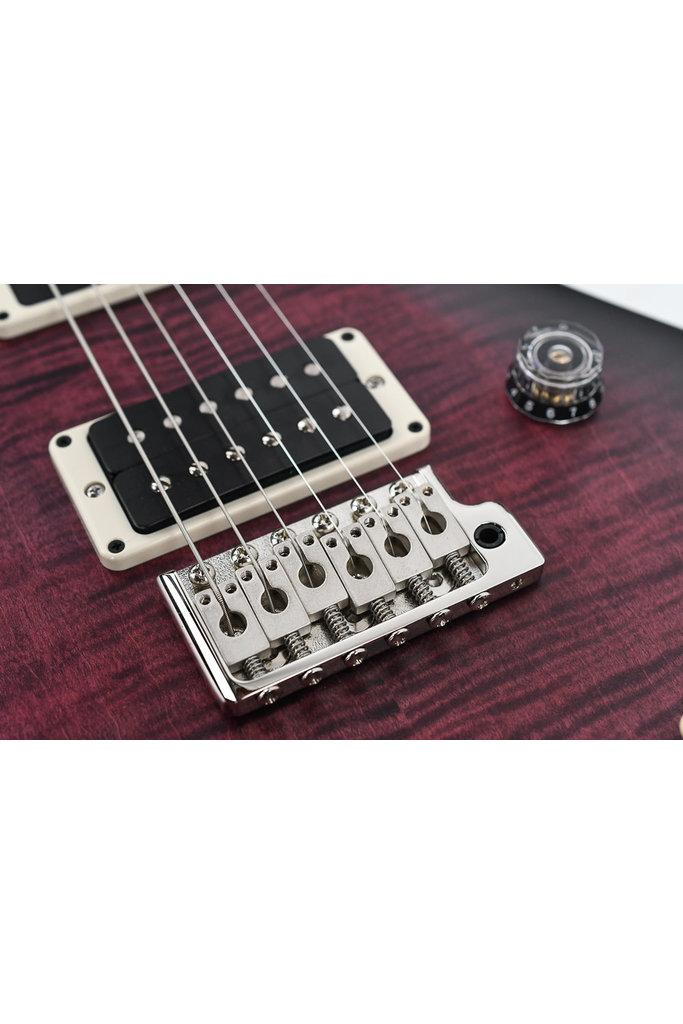 PRS CE24 Satin Nitro - Ebony Fingerboard Faded Purple Burst