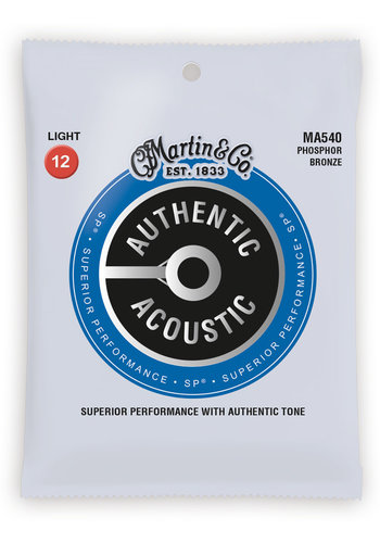 Martin Strings Martin MA540PK3 3-Pack Phosphor Bronze - 12-54