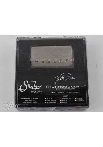 Suhr Suhr Thornbucker+ Bridge 50mm Raw Nickel
