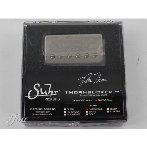 Suhr Suhr Thornbucker+ Bridge 50mm Raw Nickel