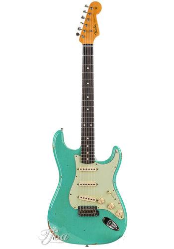 Fender Custom Fender Custom Shop Stratocaster 1960 Seafoam Green Relic 2017