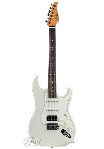 Suhr Suhr Classic S Olympic White HSS Indian Rosewood