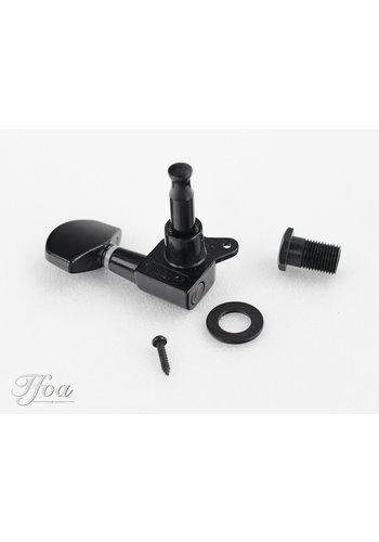 PRS PRS SE Black Tuning machine treble side