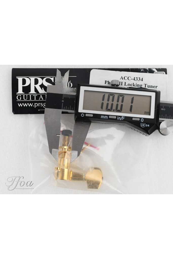 PRS Phase II locking replacement tuner | gold, treble, ACC-4334