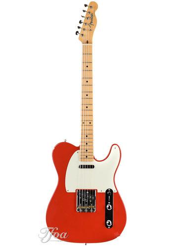 Fender Custom Fender Telecaster Masterbuilt Stephen Stern Fiesta Red NOS 2008