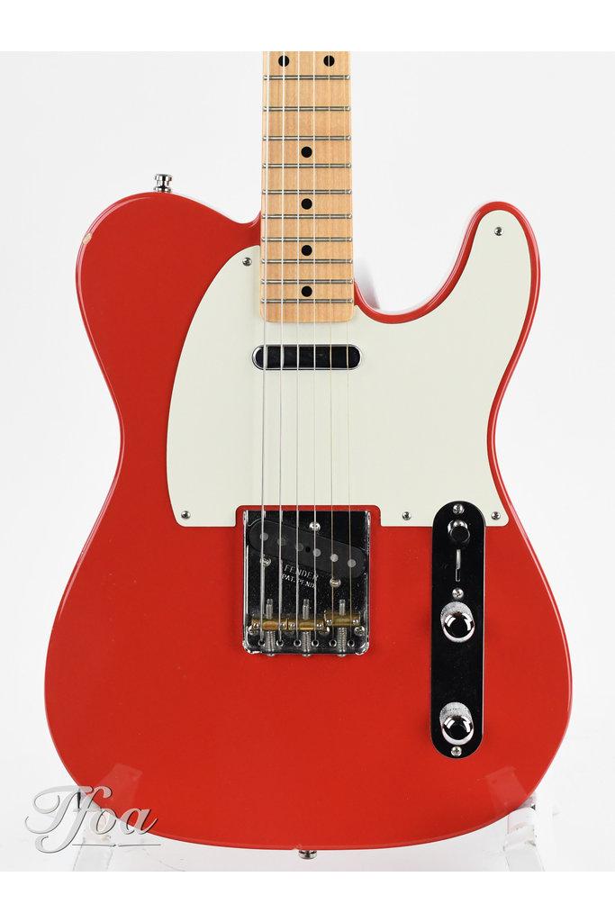 Fender Telecaster Masterbuilt Stephen Stern Fiesta Red NOS 2008