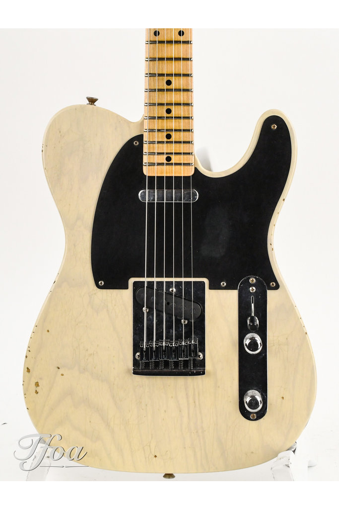Fender 52 Telecaster Honey Blonde Journeyman Relic