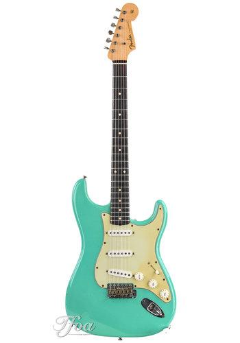 Fender Custom Fender 61 Stratocaster Relic Masterbuilt John English Seafoam Green 2002