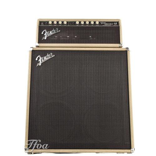 Fender Fender Custom Shop Tone Master Head Blonde + 4x12 Cabinet