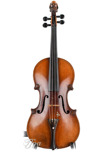 violin Maggini style Head Fiddle 19th Century
