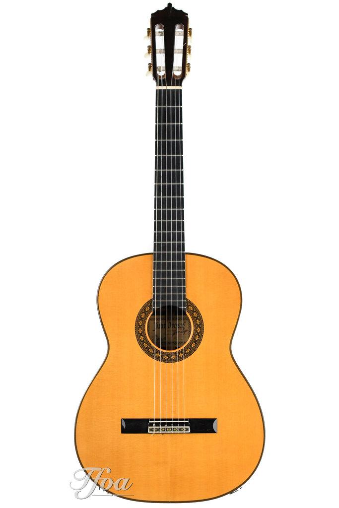 Juan Orozco Model 15 Concert Classical German Spruce Jacaranda 1981