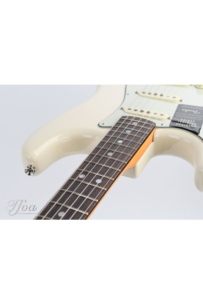 Fender American Original 60s Stratocaster Olympic White Lefty