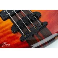 Mayones Prestige 4 Classic Quilted Maple 3-Tone Sunburst