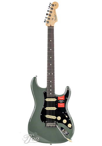 Fender Fender American Professional Stratocaster Antique Olive RW
