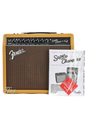 Fender Fender Super Champ X2 Limited Ragin Cajun Tweed
