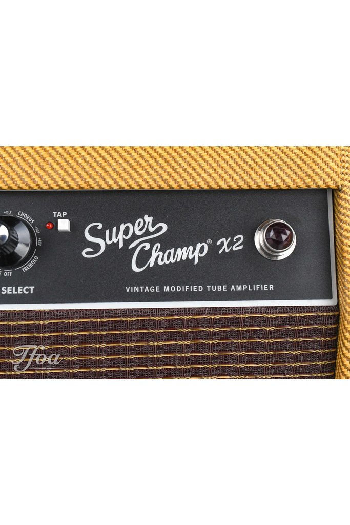 Fender Super Champ X2 Limited Ragin Cajun Tweed