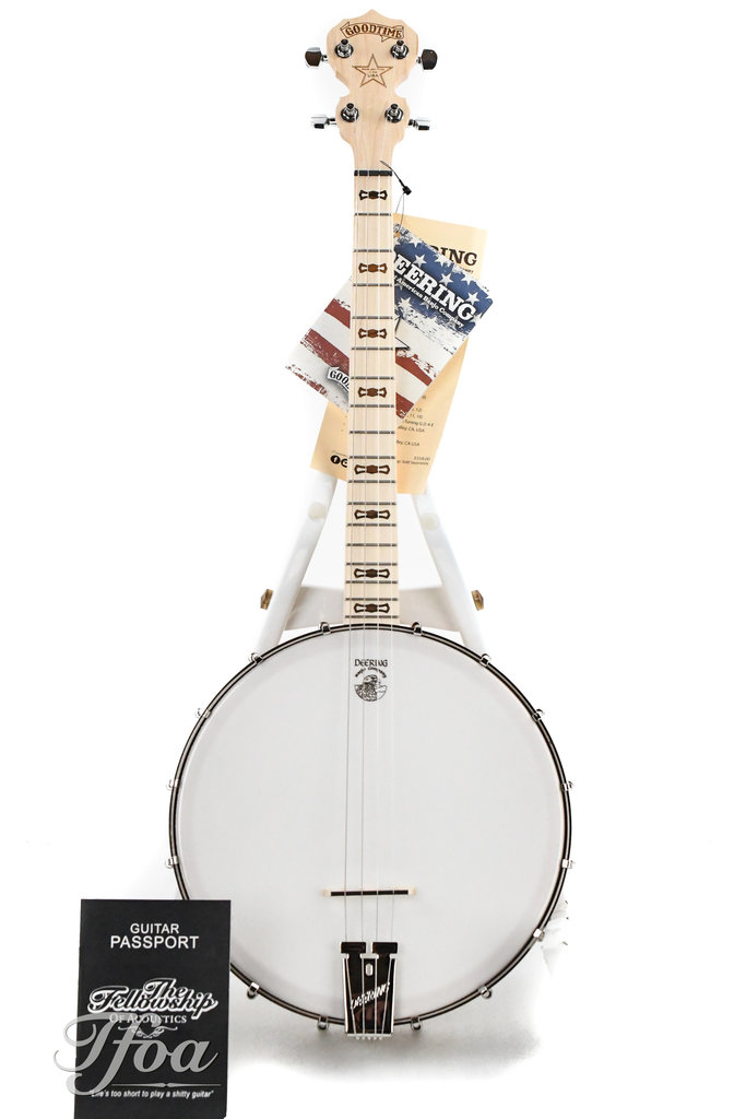 Goodtime G17 by Deering 17-Fret Open Back Tenor Banjo