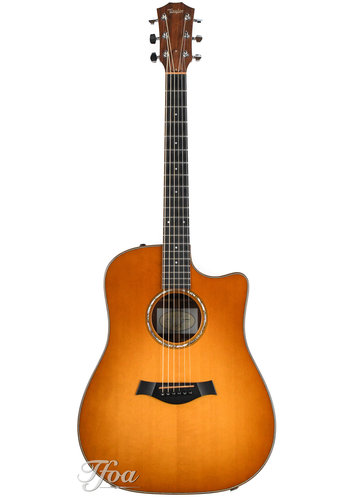 Taylor Taylor 510CE Dreadnought Cutaway Amber Sunburst 2010 Near Mint