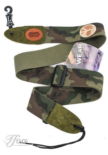 Levys Levys Camouflage Guitar Strap MSSC8PSP CAM