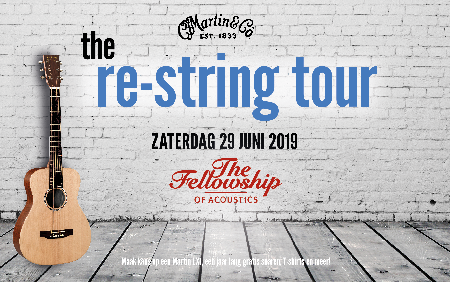 The Martin Re-String Tour at TFOA!