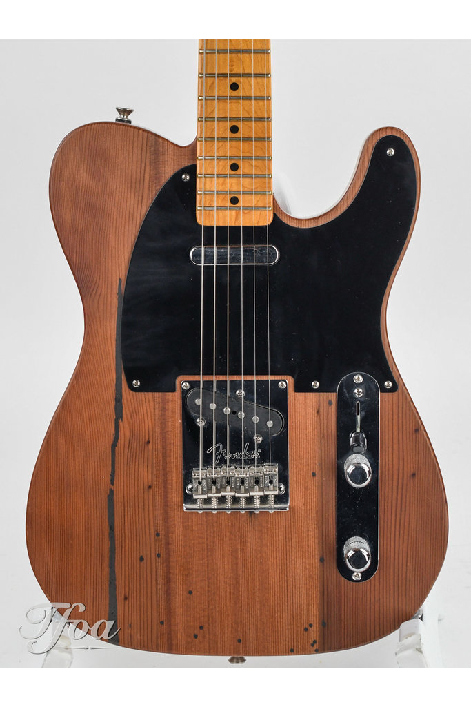 Fender Telebration Browns Canyon Old Growth Redwood Telecaster 2011