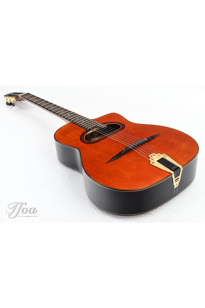 Altamira M01D Antique Grand Bouche D hole Gypsy Jazz guitar 2016