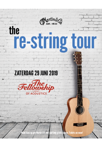 Martin The Martin Re-String Tour at TFOA!