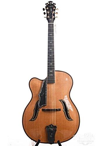 Bozo Bozo Podunavac Masterpiece lefty 17 Inch Jazz Archtop guitar  2010