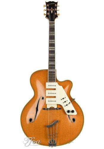 Egmond Egmond Archtop Custom Made Natural 1960s