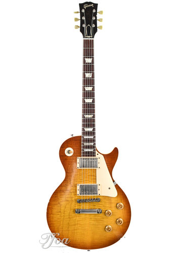 Gibson Gibson Les Paul 59 Reissue Murphy Aged Yamano Faded Cherry Burst Near Mint