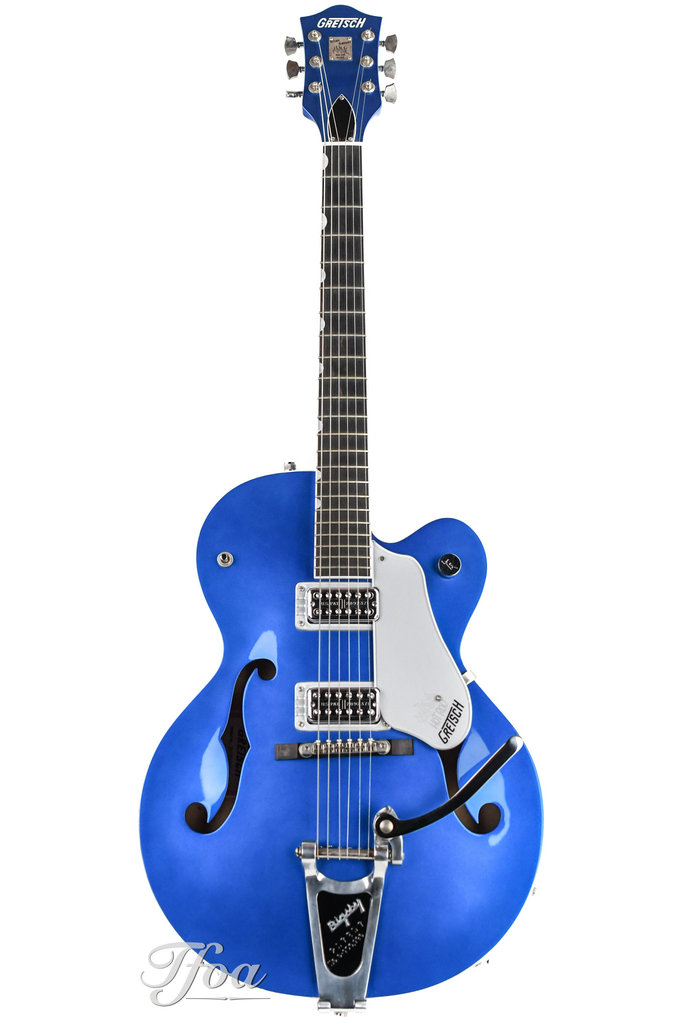 Gretsch G6120 Brian Setzer Hot Rod Regal Blue Anniversary 2008 SOLD AS IS