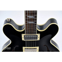Collings I35 Deluxe Blacktop Doghair